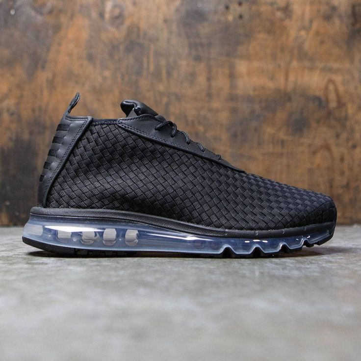 Nike Men Air Max Woven Boot (black / black)