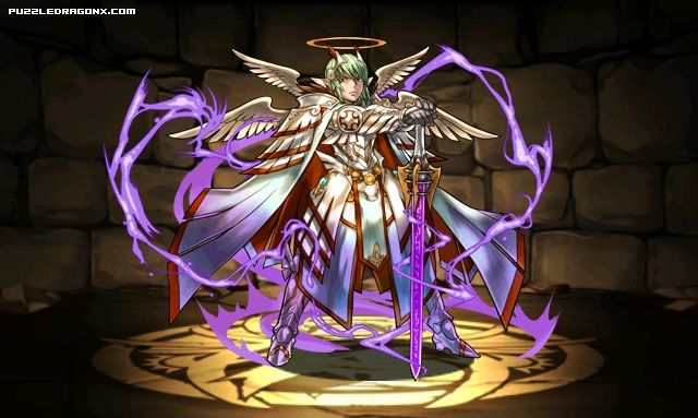 Archangel Lucifer stats, skills, evolution, location | Puzzle & Dragons Database