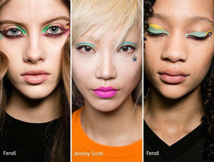 Fall/ Winter 2016-2017 Makeup, Beauty Trends: Colorful Eye Makeup