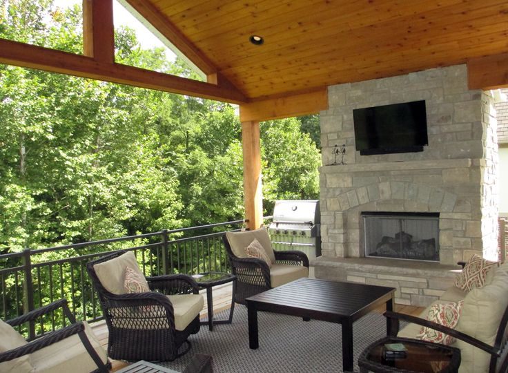 17 best images about outdoor rooms on pinterest outdoor for Outdoor room with fireplace