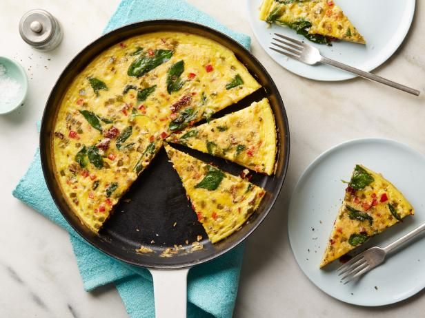 Whole30 Veggie Packed Breakfast Frittata Recipe Food Network Recipes Food Recipes