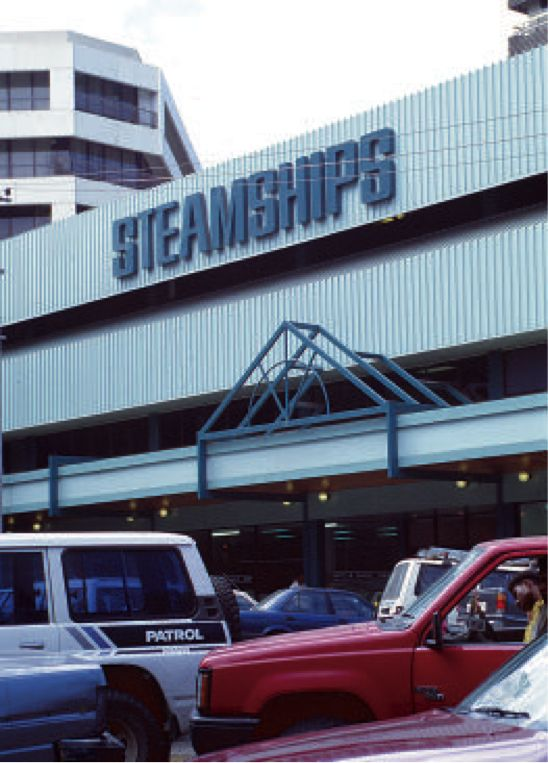 Destination PNG, Circa 1995. Business Potential: Steamships Shipping and Transport