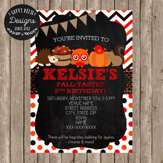 276 best chalkboard birthday signs images on pinterest fall birthday invitation fall party invitation chalkboard invitation fall party fall birthday filmwisefo Choice Image