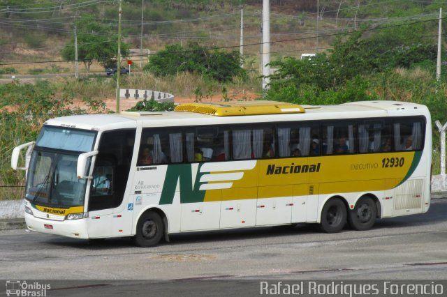 Ônibus da empresa Viação Nacional, carro 12930, carroceria Busscar Jum Buss 360, chassi Scania K420. Foto na cidade de Aracaju-SE por Rafael Rodrigues Forencio, publicada em 12/05/2016 00:05:20.