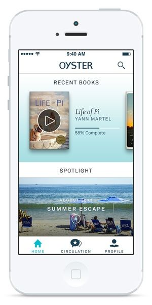 Oyster: A Netflix-like Service for Books - Techlicious