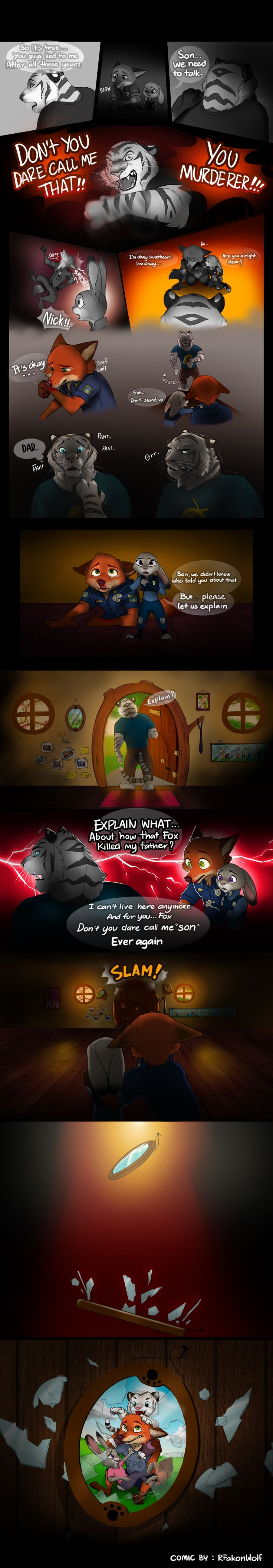 Comic: The White Tiger (by RFakonWolf) - Zootopia News Network