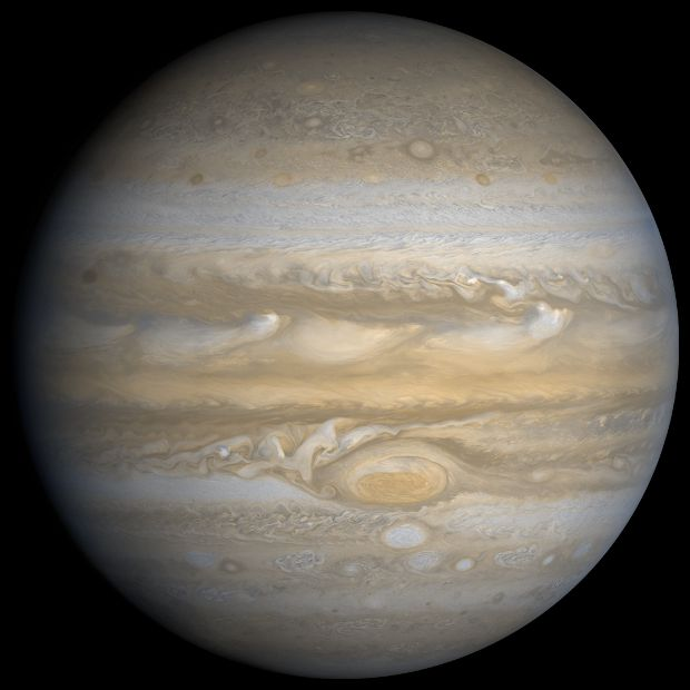 Jupiter is the fifth planet from the Sun and is the largest planet in the solar system, like the other four outer planets Jupiter is a gas giant.