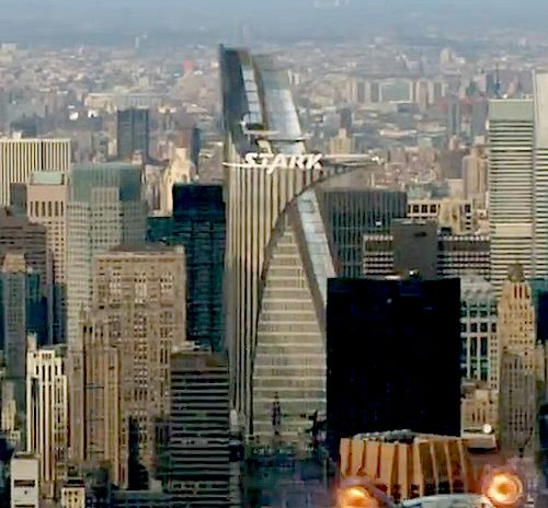 Stark tower directing movie junk pinterest home and for Tour avengers