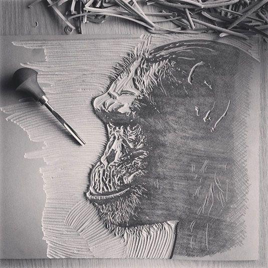 The beautiful and inventive linocut prints of John C Thurbin | Illustrator | Creative Bloq