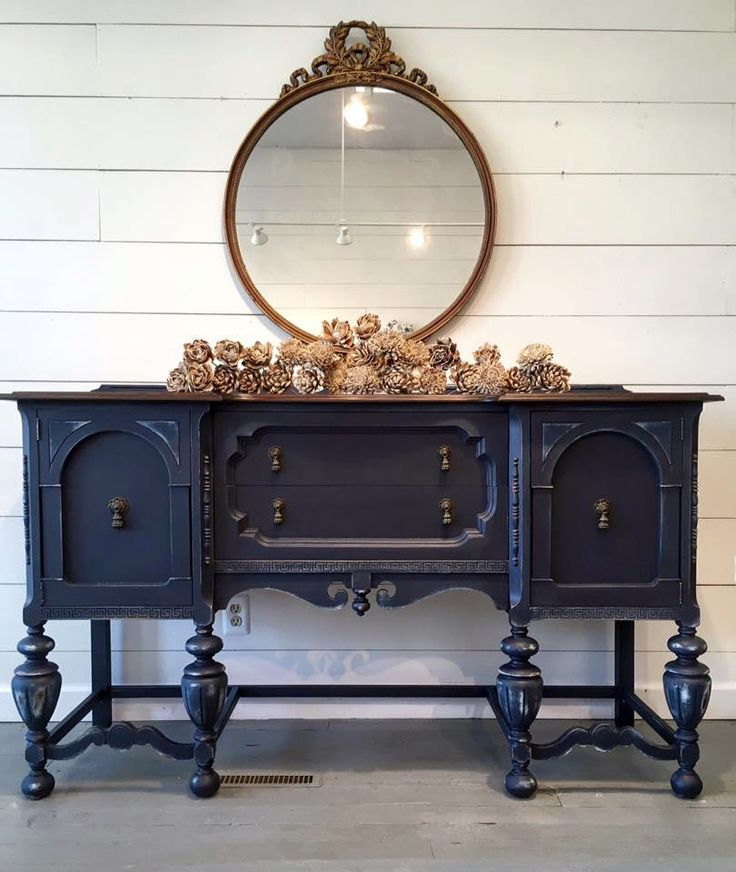 This stunning buffet was refinished with General