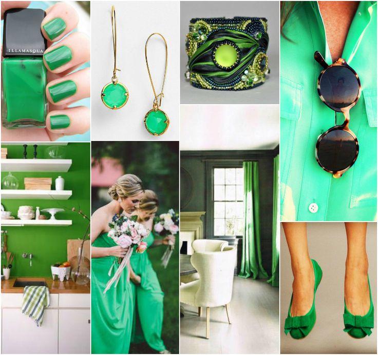 Irlandzki zielony