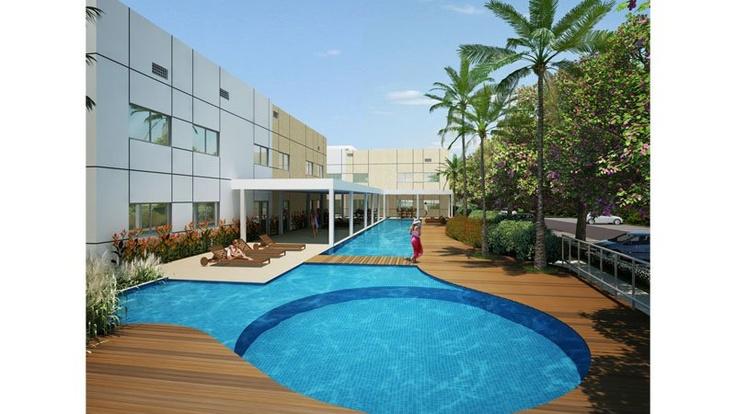 CORES DE PIATÃ Apartamentos de 2 quartos com 48m2 em condomínio com total estrutura de lazer e segurança. 40.991m2 de terreno 14 torres 04 apartamentos por...