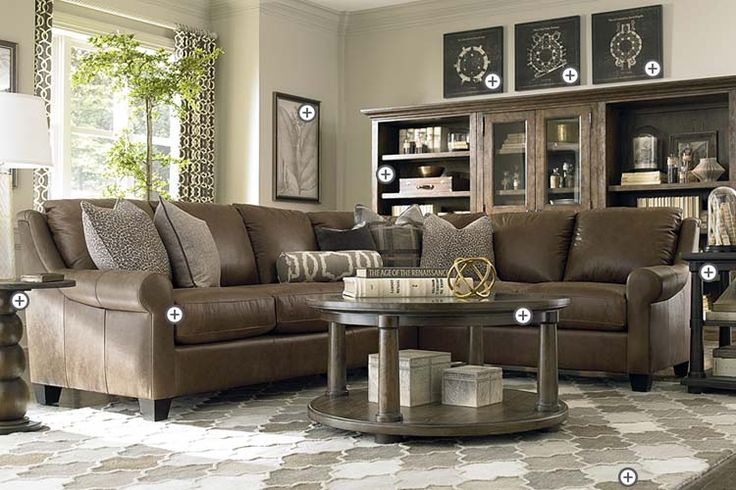 17 best ideas about brown sectional on pinterest leather living room furniture brown. Black Bedroom Furniture Sets. Home Design Ideas