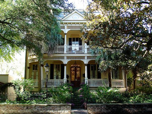 my dream, to live in an old southern mansion with 3 stories and a porch in the front on every level...sucks that i hate humidity