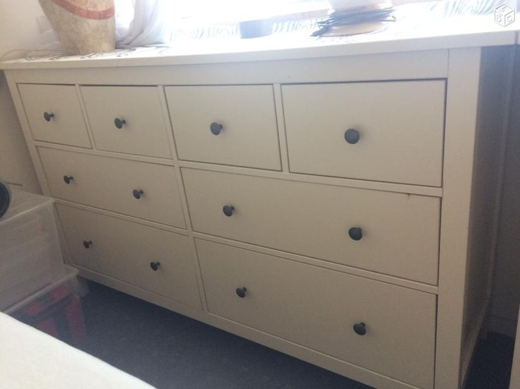 commode ikea hemnes boys room pinterest ameublement. Black Bedroom Furniture Sets. Home Design Ideas