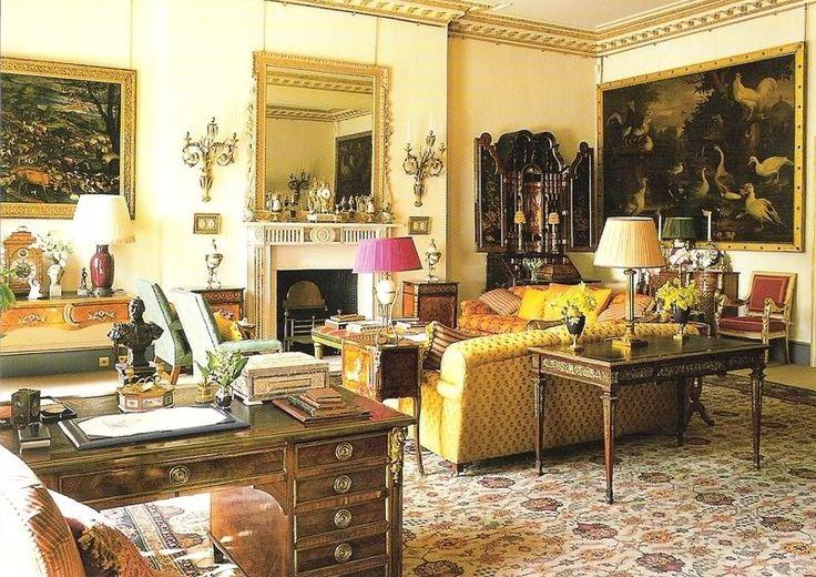 regency decor | Regency Furniture At The Clarence House English Decorating Regency ...