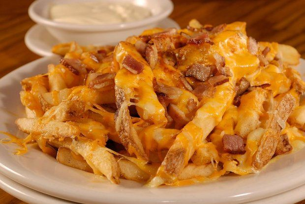 Aussie Cheese Fries at Outback Steakhouse :) and that good ranch dip stuff ha