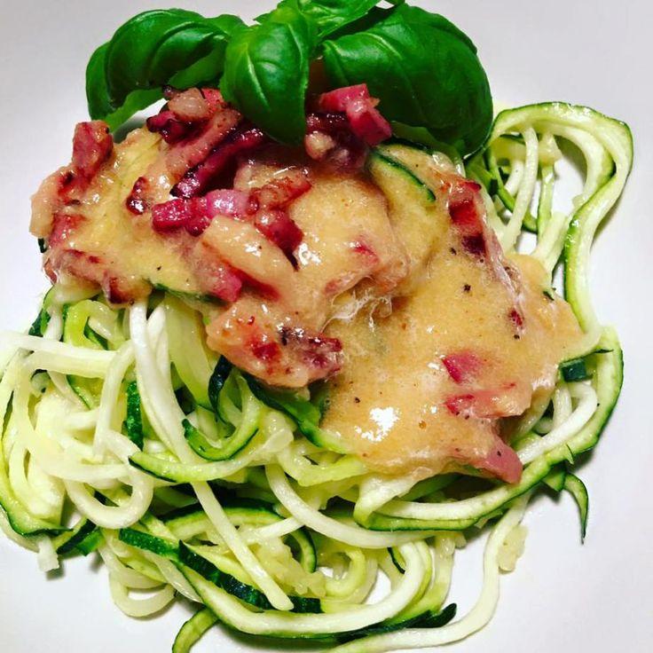 spaghetti zucchini machine