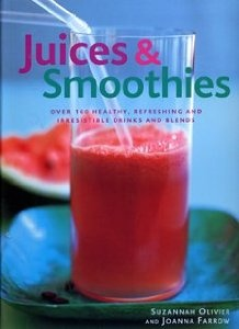 Awesome Juice and Smoothie Cookbook. I really need to start making more of these. I was doing this a lot last year.
