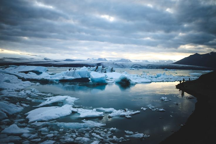 The Glacial Lagoon in Iceland