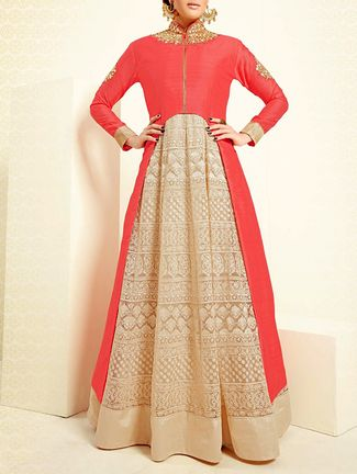 Buy Sundram Fab pink banglori silk  Online, , LimeRoad
