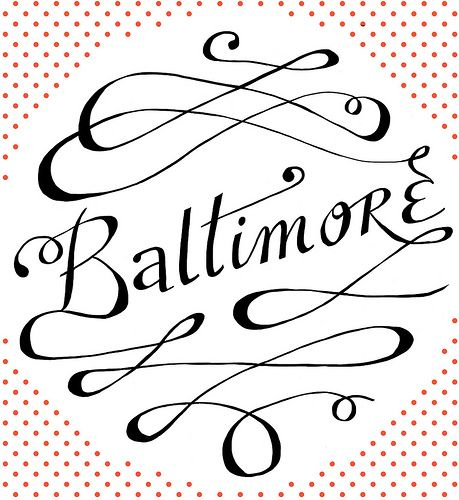 """""""Baltimore"""" Lettering by Caleb Lin: Books Covers, Fonts Typography, Graphics Design Illustrations, Art Student, Covers Books, Design Graphics, Graphics Banners, Photo, Advertising Poster"""
