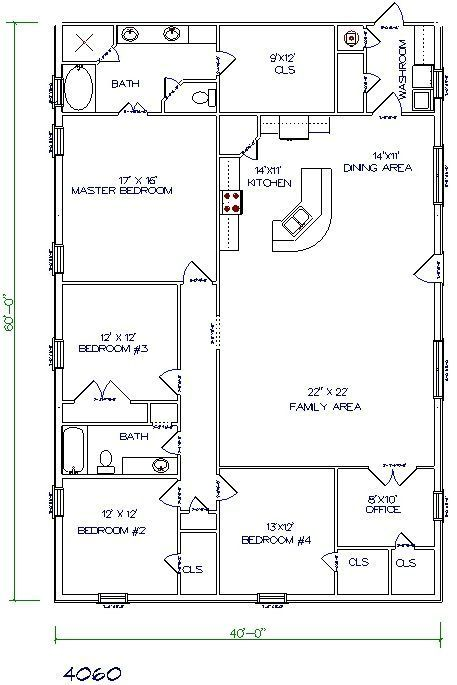30 barndominium floor plans for different purpose home plans rh pinterest com