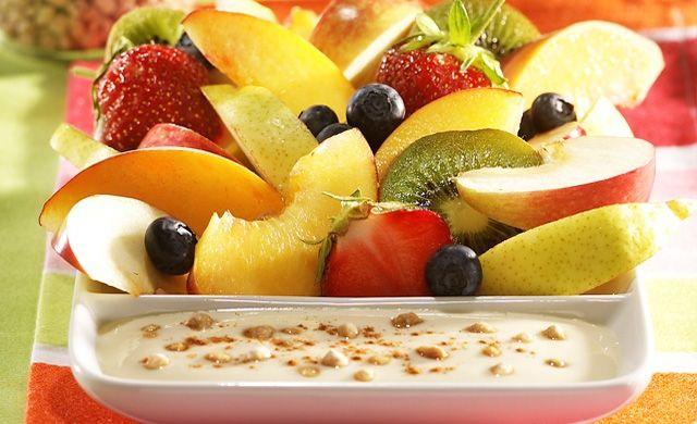 Trempette pour fruits à l'érable