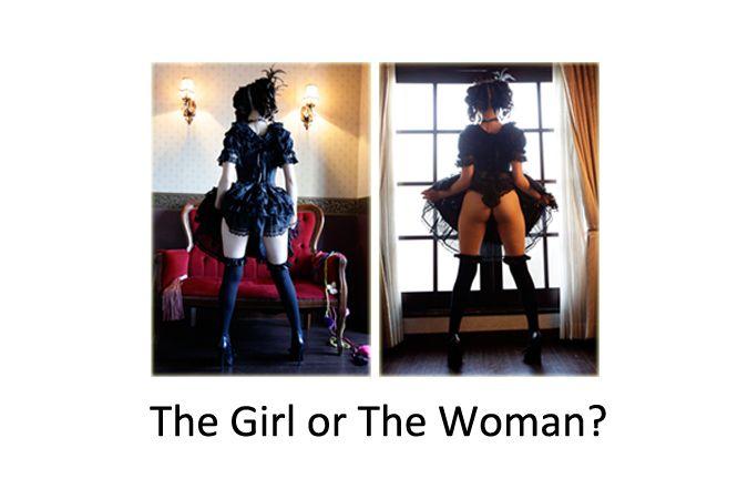 The Girl or The Woman/SAKURAKO