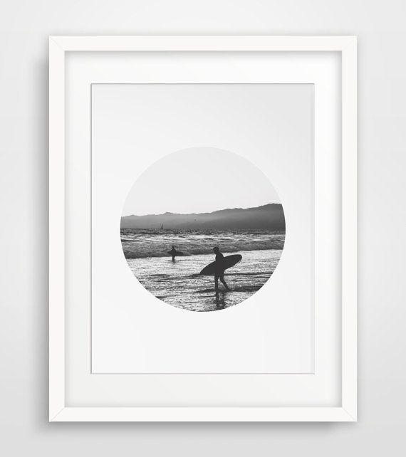Beach Photo Surf Photography Summer Art by MelindaWoodDesigns #beachdecor