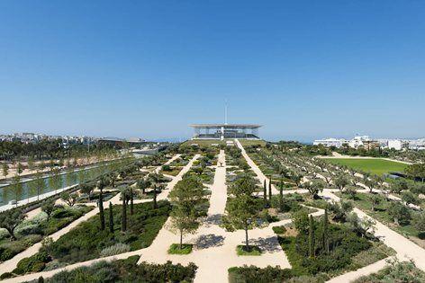Stavros Niarchos Foundation Cultural Centre (SNFCC), Atene, 2016 - RPBW - Renzo Piano Building Workshop, BETAPLAN