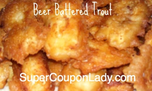 Beer Battered Fried Trout #MinhasCraftBrew