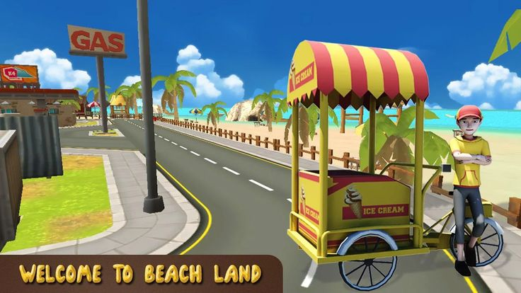 Beach Ice Cream Delivery - screenshot