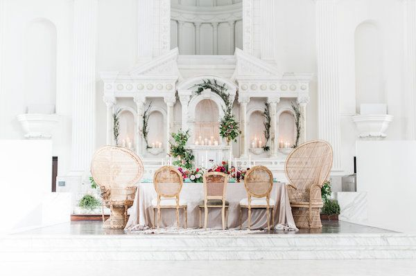 Dining Table Inspiration | Found Vintage Rentals #boho #bohemian #vintage #furniture #rentals #wedding #decor #dining #table #chair #party