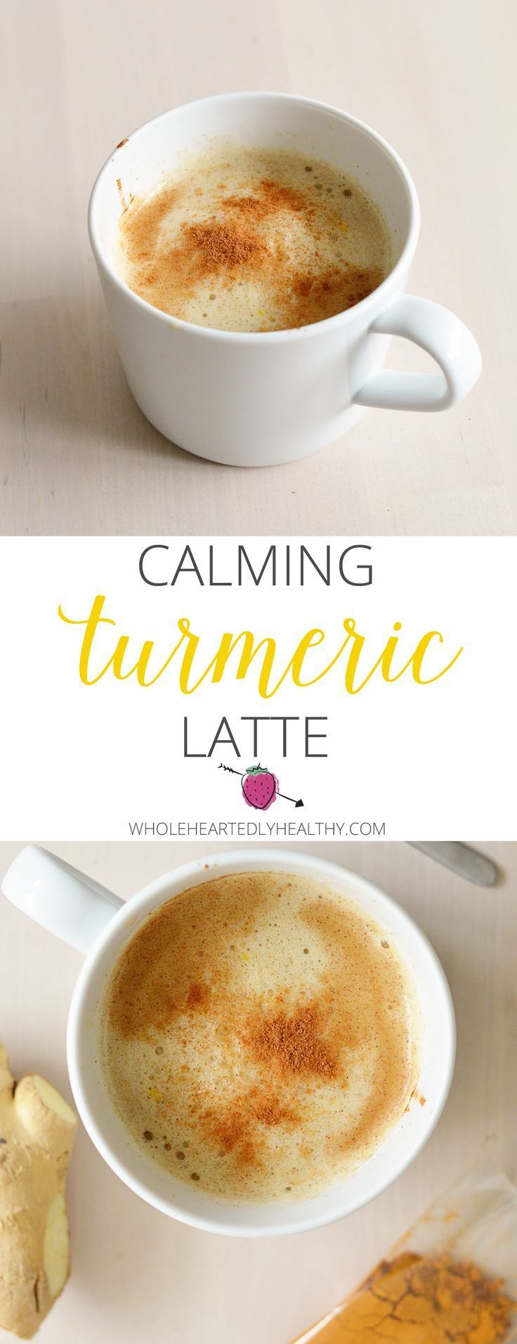 The latte you can have before bed! Delicious calming Turmeric Latte with anti inflammatory, anti ageing and blood sugar balancing health benefits.