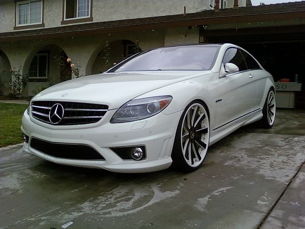 Modified Mercedes Benz CL63 AMG 2008