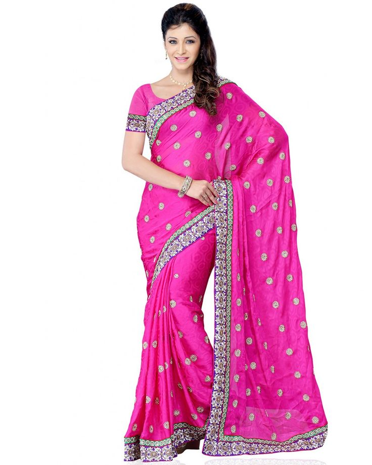 This is a party wear saree made from jacquard fabric, the saree is crafted with a colorful lace border. Size: 2 meter dupatta, lehenga up to 42 inches size, 0.8 m