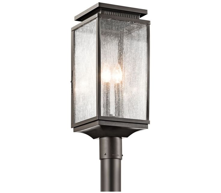 Kichler 49388oz manningham outdoor post light