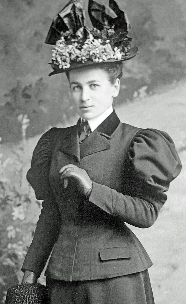 """Princess Maria Theresa of Löwenstein-Wertheim-Rosenberg was born in 1870 in Rome..She married her first cousin Miguel, the Duke of Braganza, a claimant to the former throne of Portugal. This made Maria Theresa Duchess consort of Braganza, and later titular Queen consort of Portugal . Maria and Miguel had eight children and have many descendants. """"Queen"""" Maria Theresa died in 1935."""
