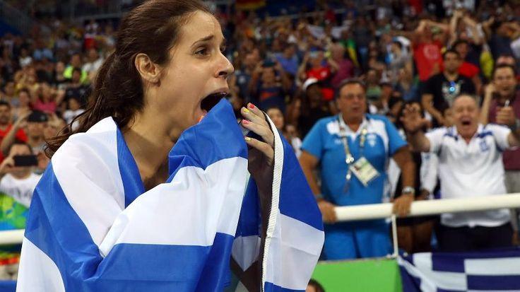 Olimpíadas Rio 2016: À sombra de Isinbayeva, grega é campeã olímpica no salto…