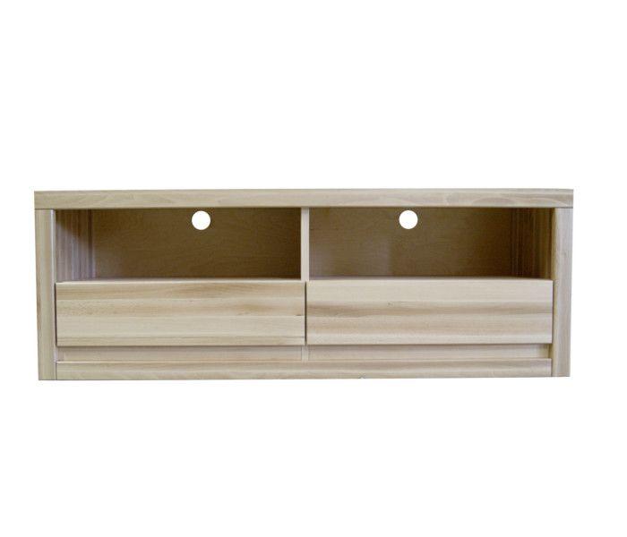 #szafka #rtv #buk Szafka RTV bukowa [n45] Meble Drewniane - meble sosnowe producent, łóżka, komody, witryny
