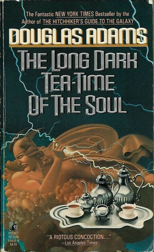 The Long Dark Tea-Time of the Soul, Douglas Adams | 17 Groundbreaking Sci-Fi And Fantasy Books Everyone Should Read