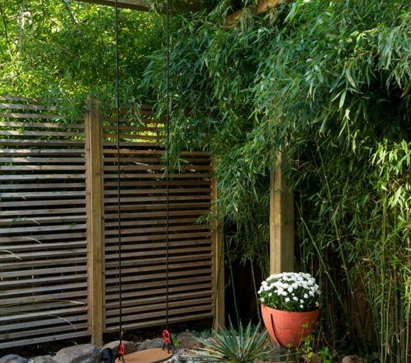 panneau de bois occultant id es de conception sont int ressants votre d cor. Black Bedroom Furniture Sets. Home Design Ideas
