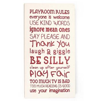 cute play room saying  #: Playrooms Rules, Playrooms Wall, Pink Playrooms, Timber Playrooms, Plays Rooms, White Playrooms, Timber Zulilyfind, Art Zulilyfind, Kids Rooms