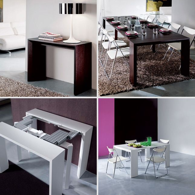 Goliath Console Dining Table 12 Cool Pieces Of Convertible Furniture Small Es Convertibles Multifunctional