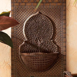Traditional Outdoor Fountain - Mosaic