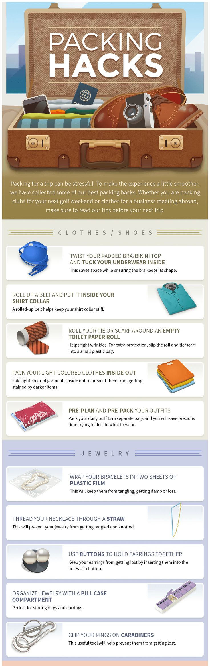 How to pack like a pro [INFOGRAPHIC]
