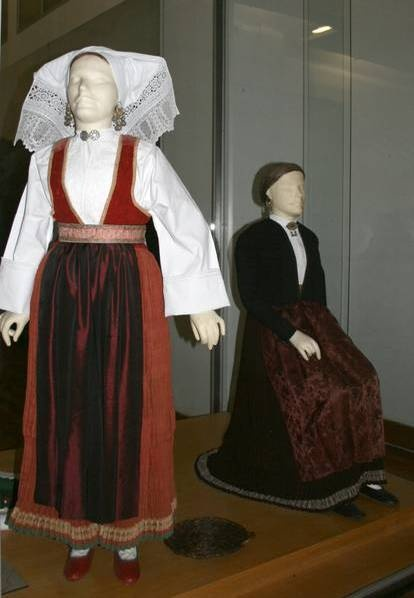 Croatian national dress from the island of Pag