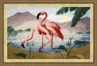 РС-013 Розовые фламинго