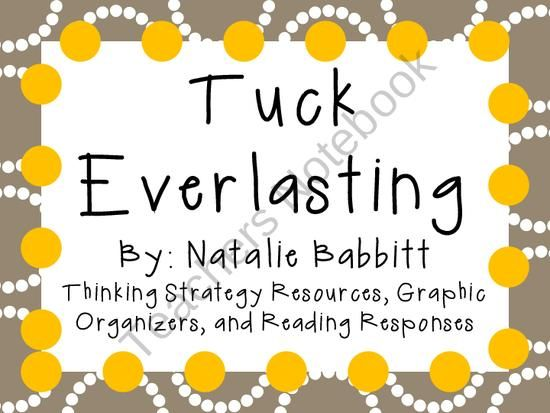 31 best images about Tuck Everlasting on Pinterest   Novels, Tuck ...